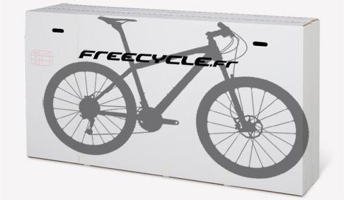 Expédition vélo pré-monté et réglé