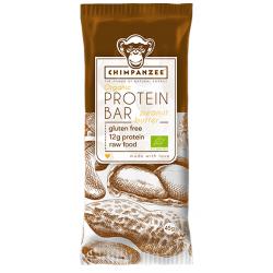 Barre Protéinée Chimpanzée 100% naturelle Beurre de cacahuète 45gr sans Gluten