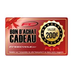BON D'ACHAT CADEAU 200€